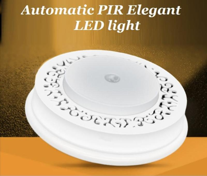 Đèn LED cảm ứng hồng ngoại PIR tự động sáng cầu thang, tủ quần áo, nhà kho