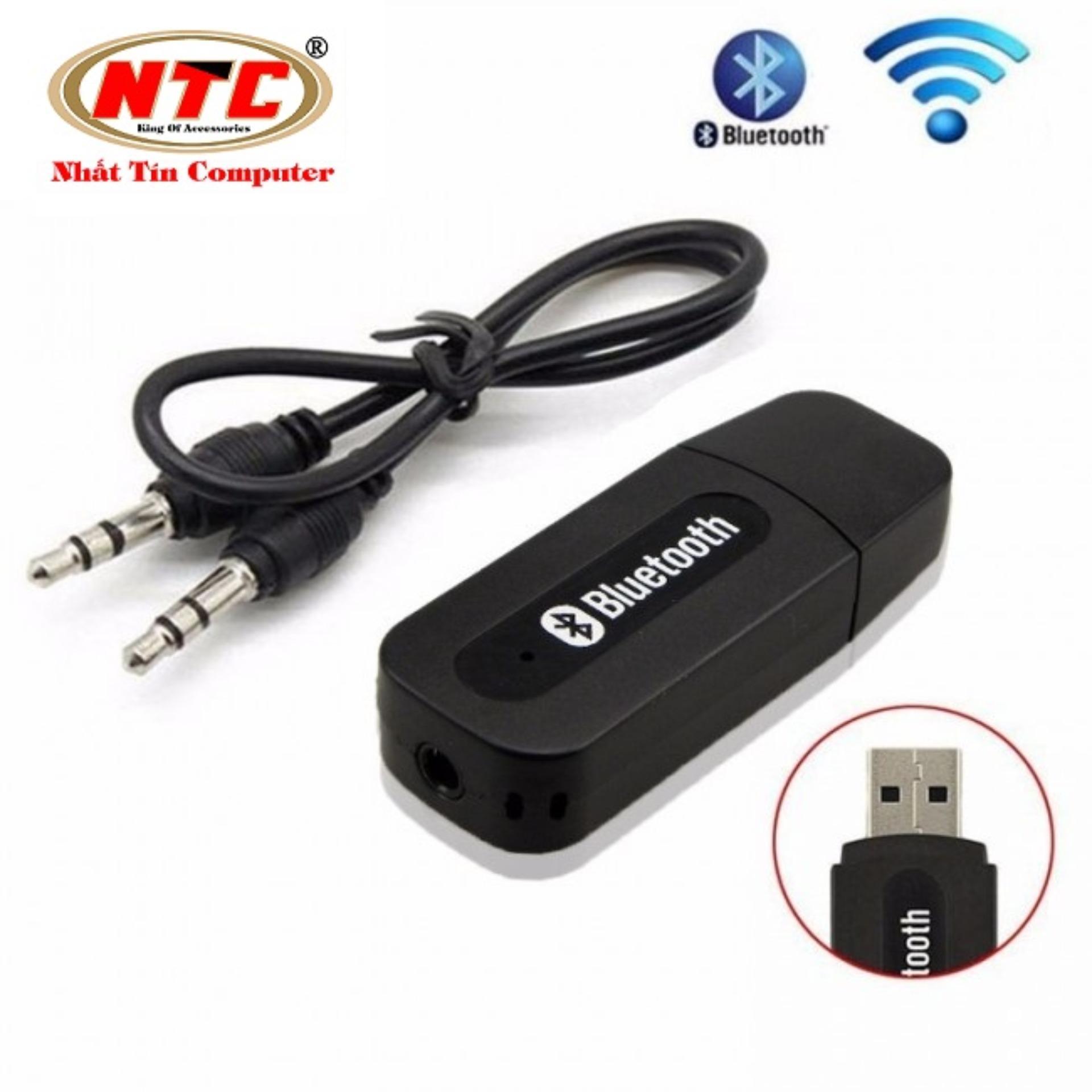 Hình ảnh USB Bluetooth 163 kết nối Loa Thường thành loa không dây (Đen)