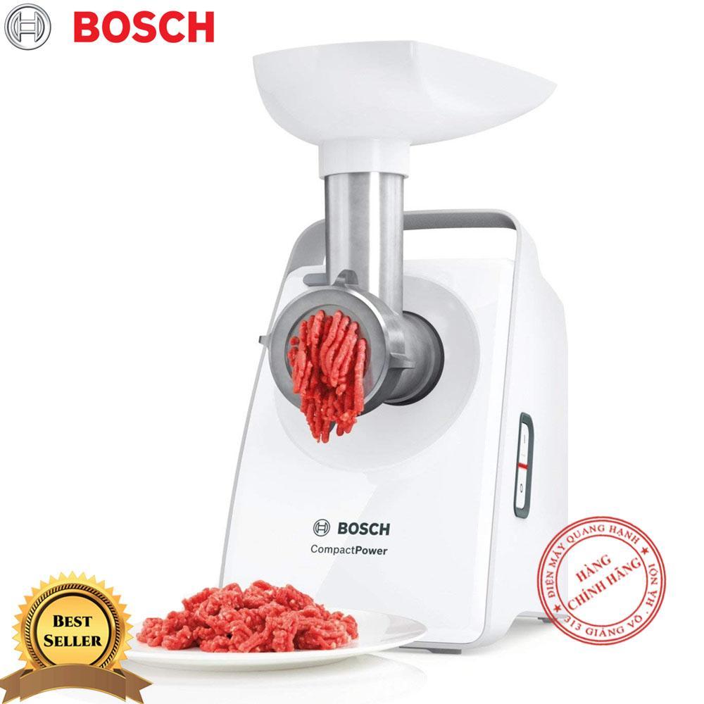 Máy xay thịt Bosch MFW3520W 1500W (Trắng) - Hãng phân phối
