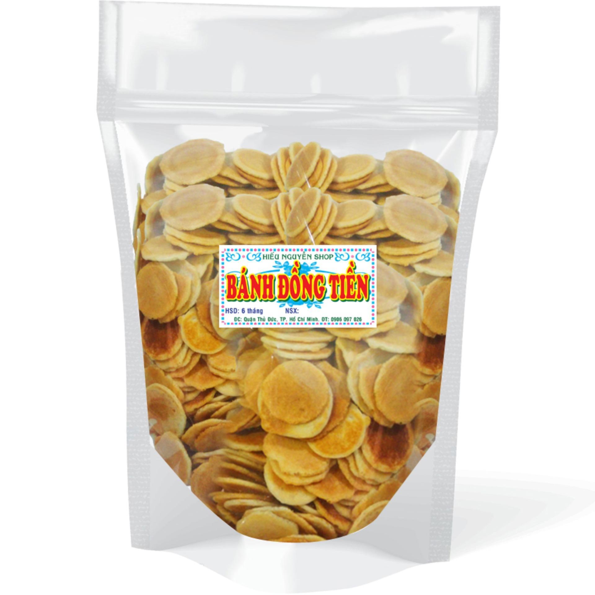 Hình ảnh Gói Bánh Quy Sữa Đồng Tiền 500Gr