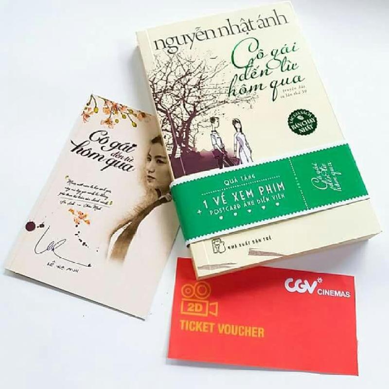 Mua Cô Gái Đến Từ Hôm Qua + Tặng Bookmark