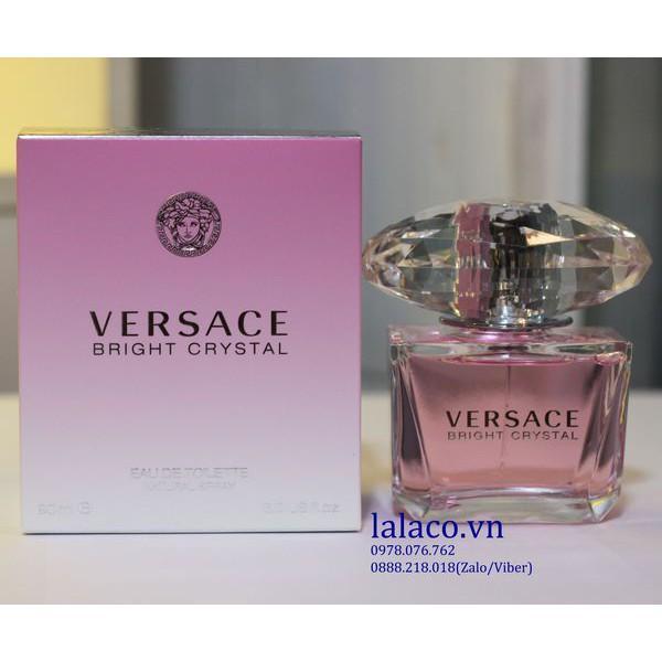 [HCM]Nước hoa Versace Bright Crystal 90ml