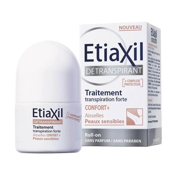 Lăn Khử Mùi Etiaxil Confort+ Peaux Sensibles ngăn Mồ Hôi, Hôi Nách 15ml Dành Cho Da Đặc Biệt Nhạy Cảm (Nâu) giá rẻ