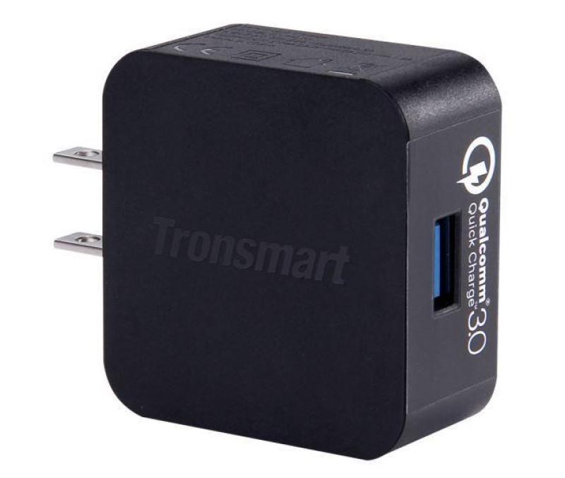 Sạc Tronsmart WC1T công nghệ xạc Quickchange 3.0 tự động điều chỉnh hiệu điện thế