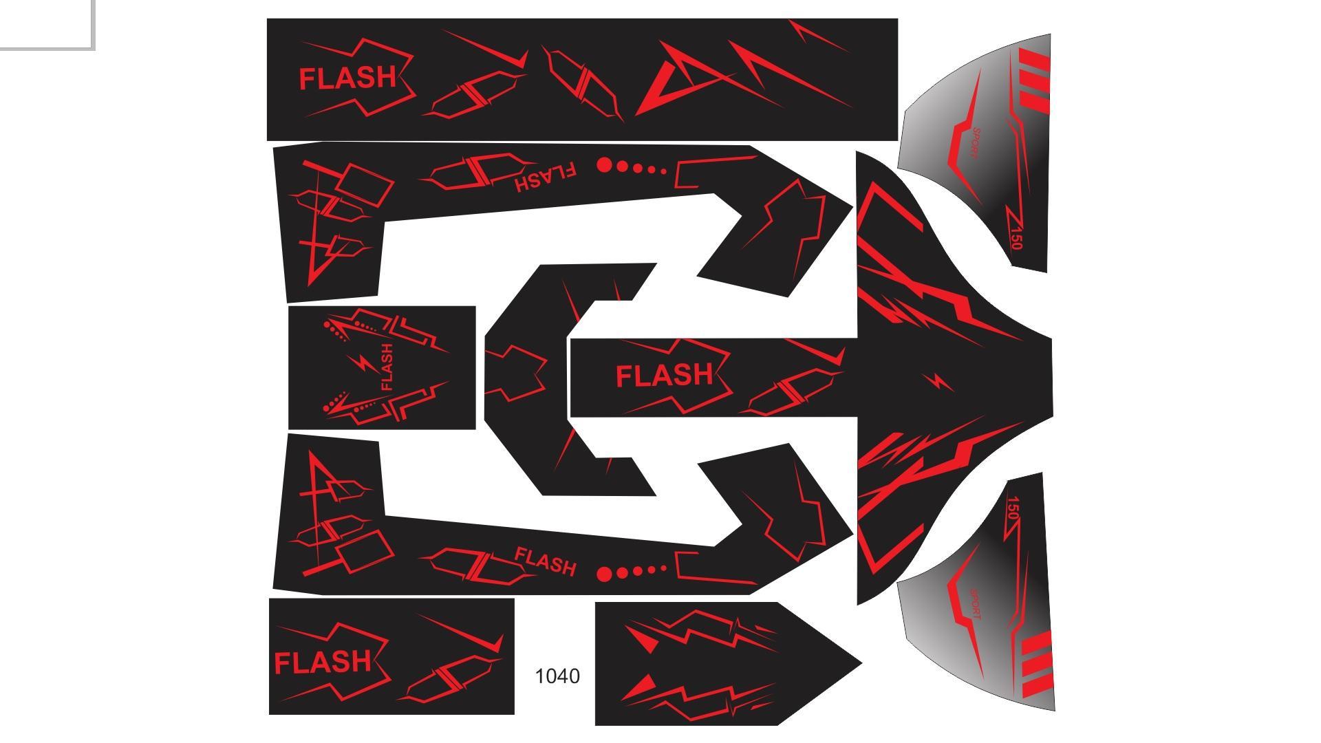 tem trùm 133s mẫu Flash