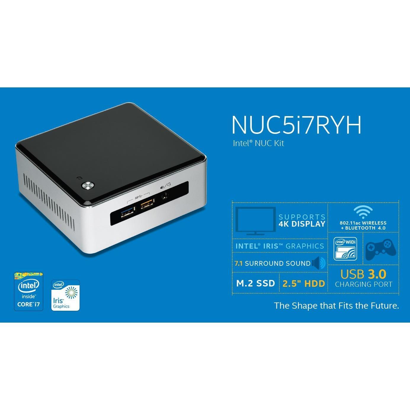 Hình ảnh Intel® NUC Kit NUC5i7RYH Mini PC