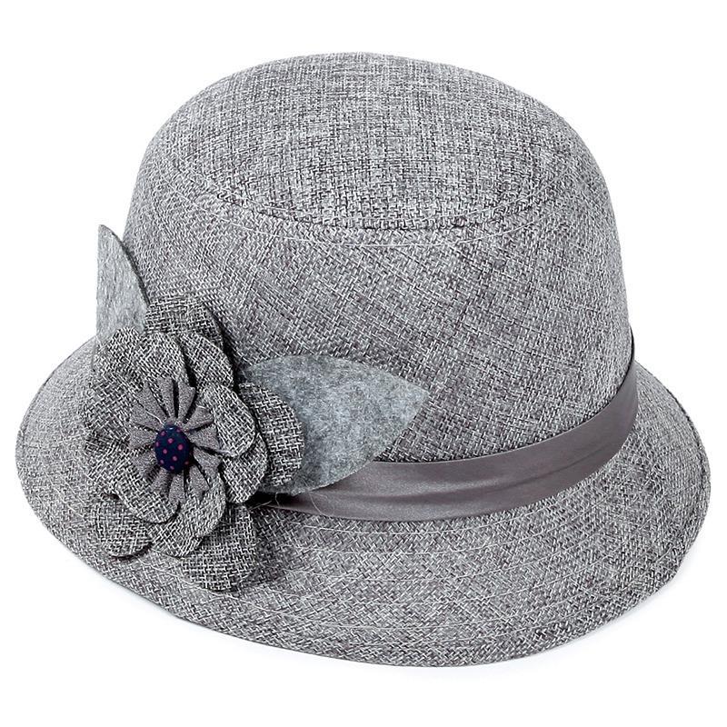 Mũ Vải Nữ Th073 Họa Tiết Hoa Phong Cach Hnaf Quốc Oem Chiết Khấu