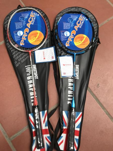 Combo 2 cây vợt cầu lông Proace giá rẻ tập luyện - tặng kèm bao vợt cùng loại hàng đẹp tập luyện
