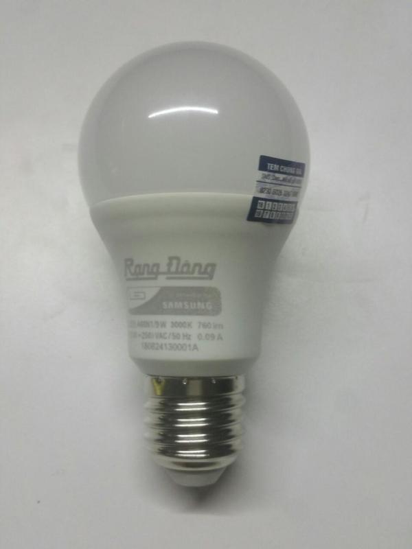 Bóng đèn led búp RẠNG ĐÔNG 9W Model A60N1/9W