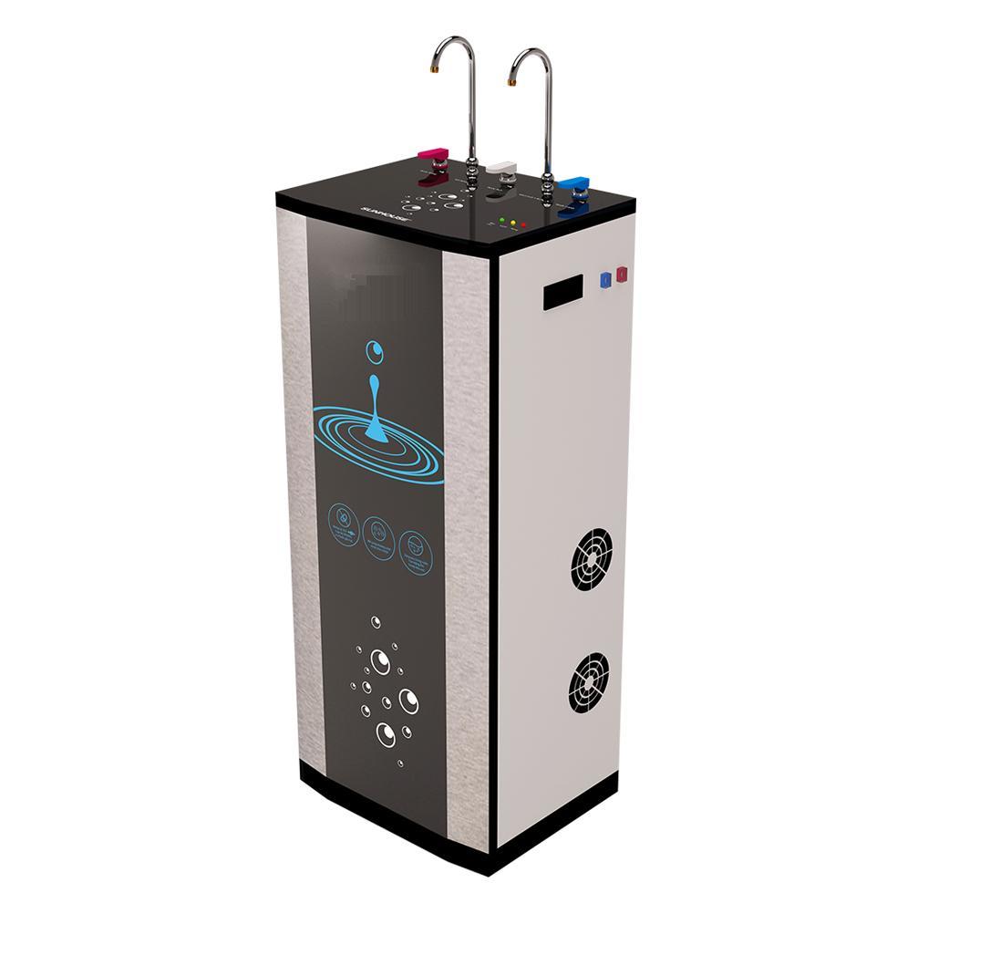 Máy lọc nước CTE Nóng Nguội thùng 3D