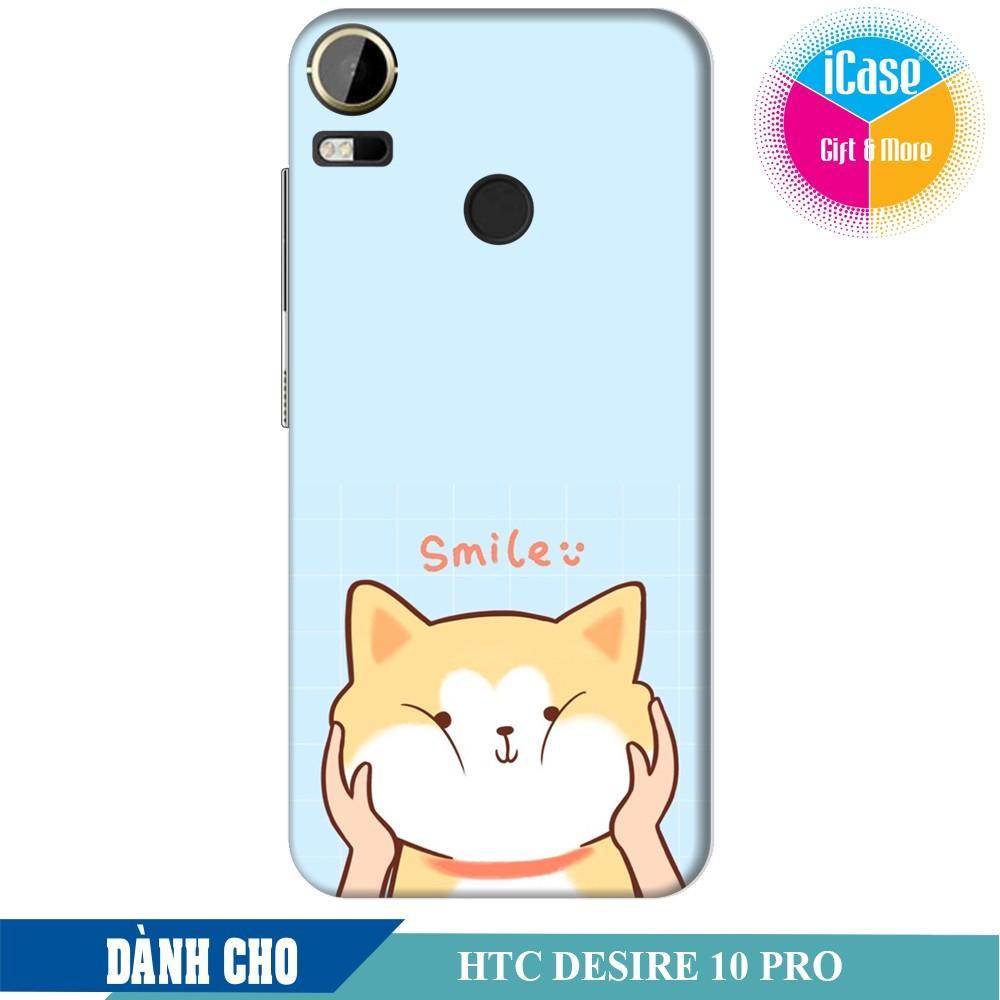 Hình ảnh Ốp lưng nhựa dẻo dành cho HTC Desire 10 Pro in hình Chú chó Akita