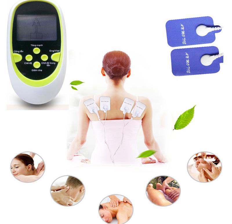 MÁY MATXA BỤNG máy massage đa chức năng 8 miếng gián S4, trị liệu vật lý tần số thấp giảm đau tức thì cải thiện vóc dáng lỗi 1 đổi 1.1