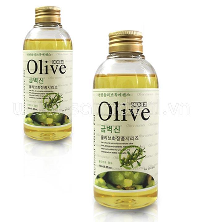Dầu oliu massage body yoni - 170ml - 100 thiên nhiên - Cho làn da căng mịn