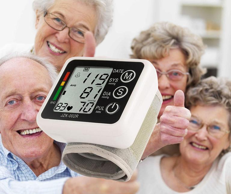 Máy đo huyết áp cổ tay  , Máy đo huyết áp cho người già - Máy đo huyết áp G99 cao cấp, Chính xác, tốc độ đo cực nhanh Mẫu 660 - Bh uy tín 1 đổi 1 bán chạy