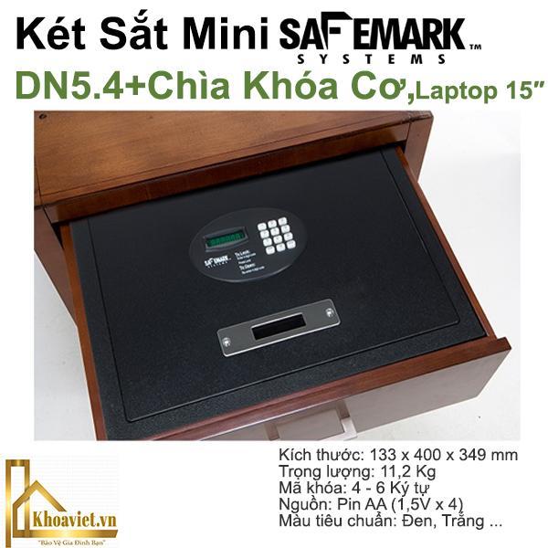 DN 5.4 Két Sắt Khách Sạn SafeMark (USA)