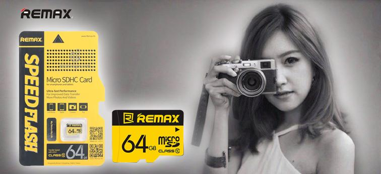 Thẻ Nhớ Micro SDHC Remax 64GB