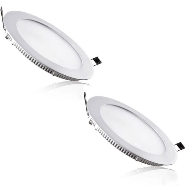 Bộ 2 đèn Led downlight âm trần siêu mỏng 18W ( Ánh sáng trắng)