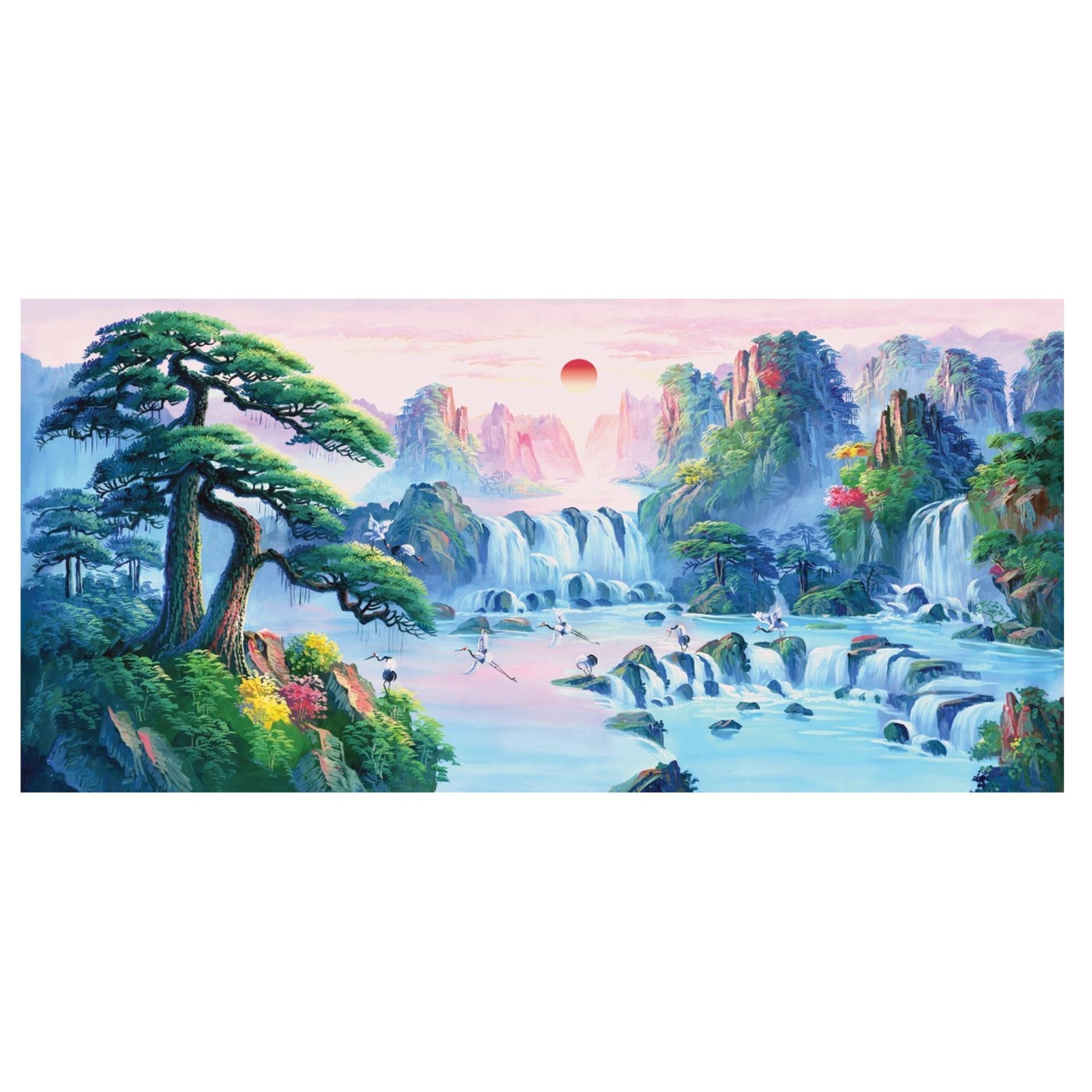 Bán Mua Tranh Dan Tường 3D Phong Thủy Tung Hạc Dien Nien Vtc Lunatm 0026 Hồ Chí Minh