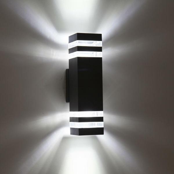Đèn tường Atimol 2 Đầu Đui E27 3358/2. Chất liệu thép sơn tĩnh điện chống ăn mòn, chống gỉ