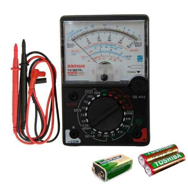 Đồng hồ đo Kim VOM YX 360TRn kèm pin