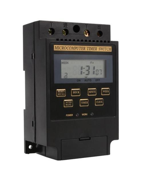 Bộ Công Tắc Hẹn Giờ Tắt Mở Thiết Bị Tự Động Smart Sensor KG316 (Đen)