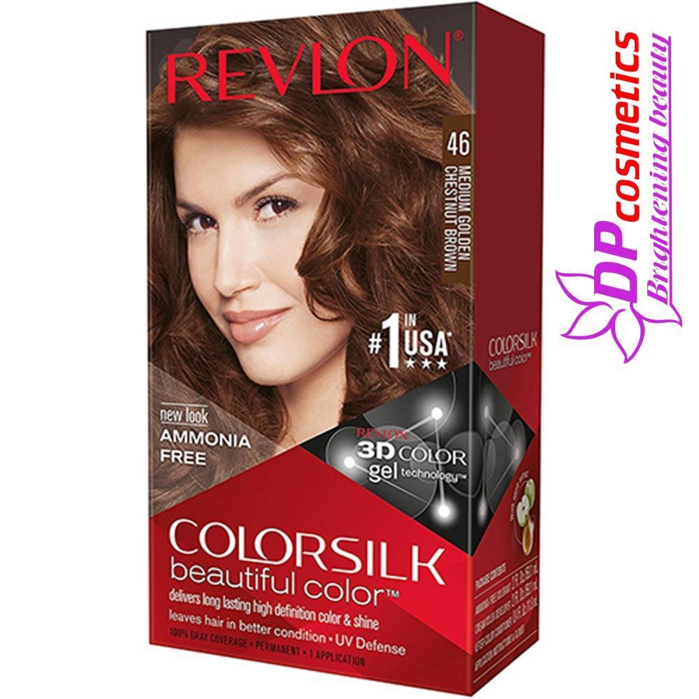 Nhuộm tóc Revlon 46 - Màu Nâu hạt dẻ