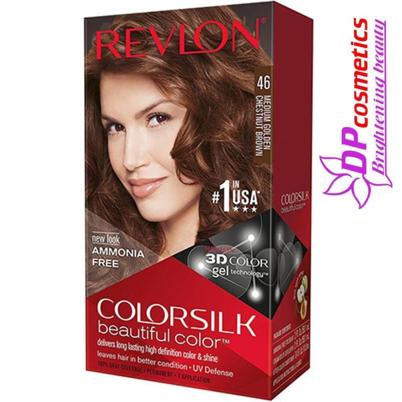Nhuộm tóc Revlon 46 - Màu Nâu hạt dẻ cao cấp