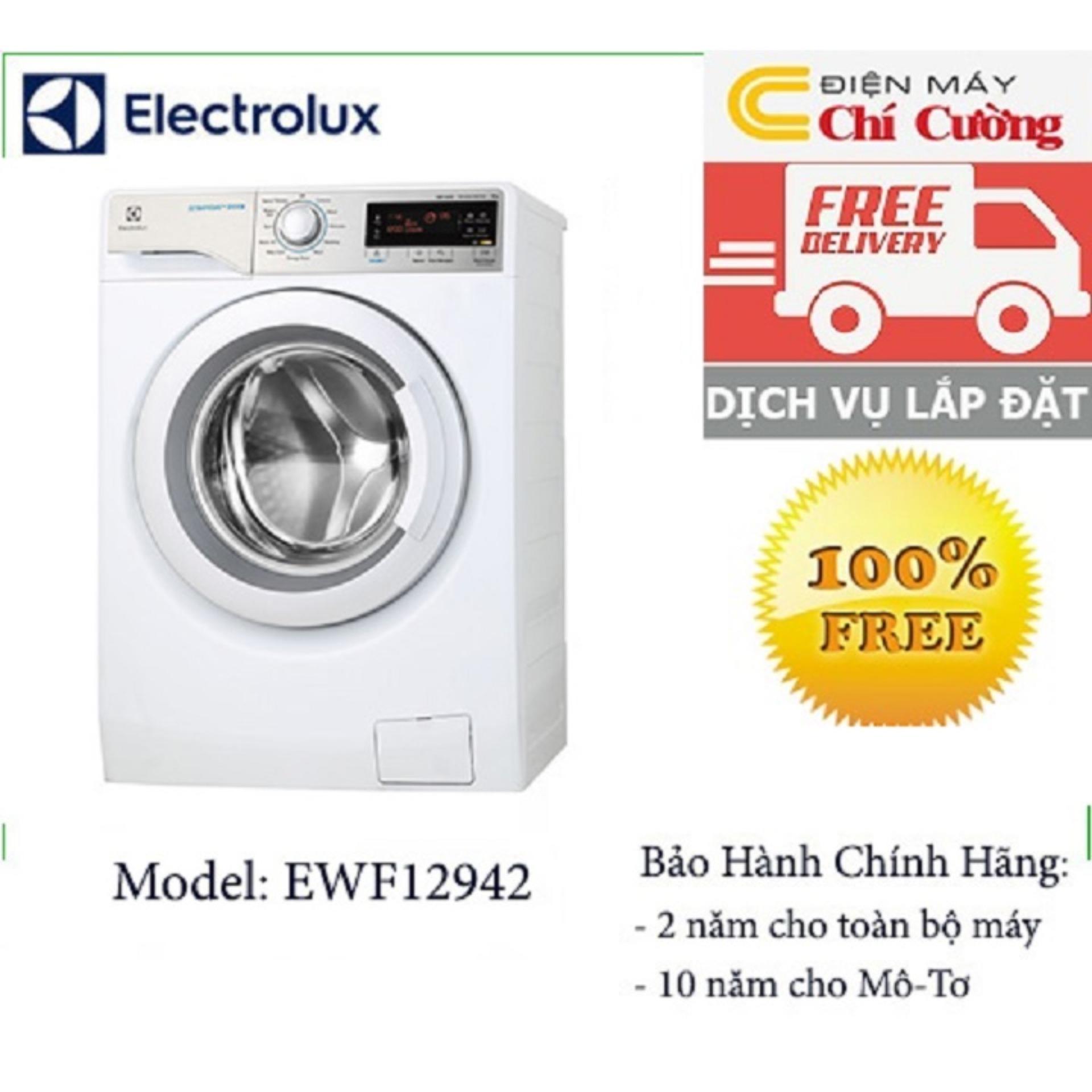 Máy giặt cửa trước Electrolux EWF12942 9kg (Trắng)