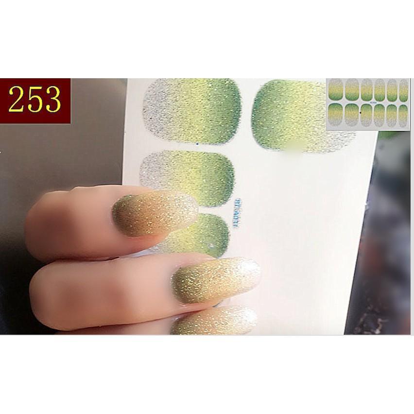 nail art sticker dán móng tay N13 (quà tặng 1 giũa và 2 khăn vô trùng) tốt nhất