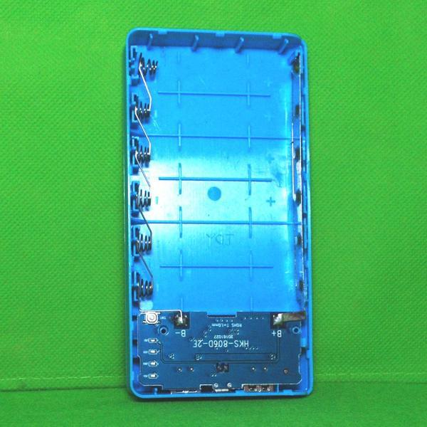 Mạch Sạc dự phòng 1.5A + Box 6 cell pin 18650 không hàn PWB206 - KHÔNG CÓ PIN