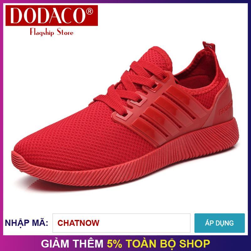 Hình ảnh Giày sneaker unisex giày thể thao unisex thời trang unisex DODACO DDC1866 - (Nhiều màu)