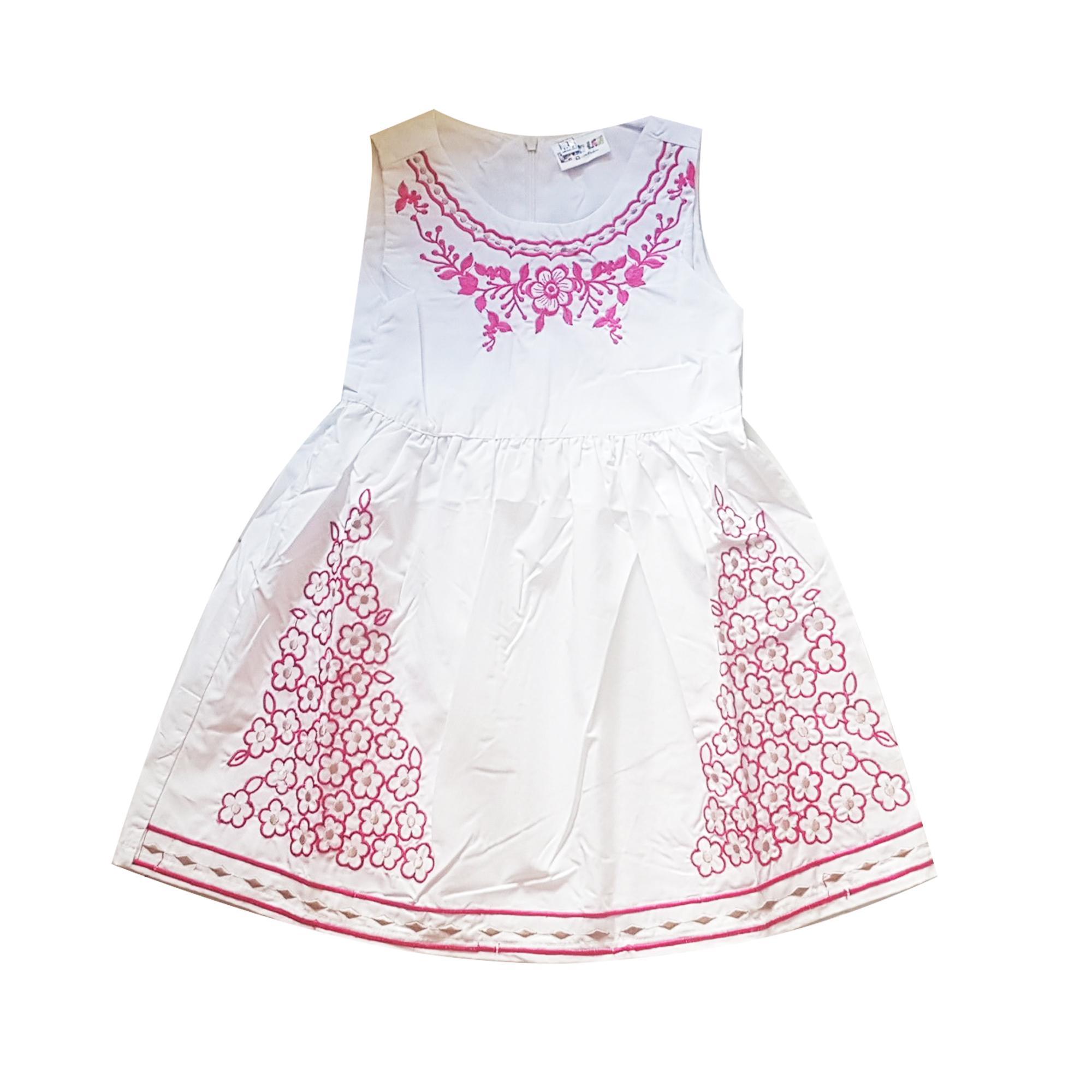Giá bán Đầm xòe cho bé gái 2-8 tuổi Tri Lan DBG064