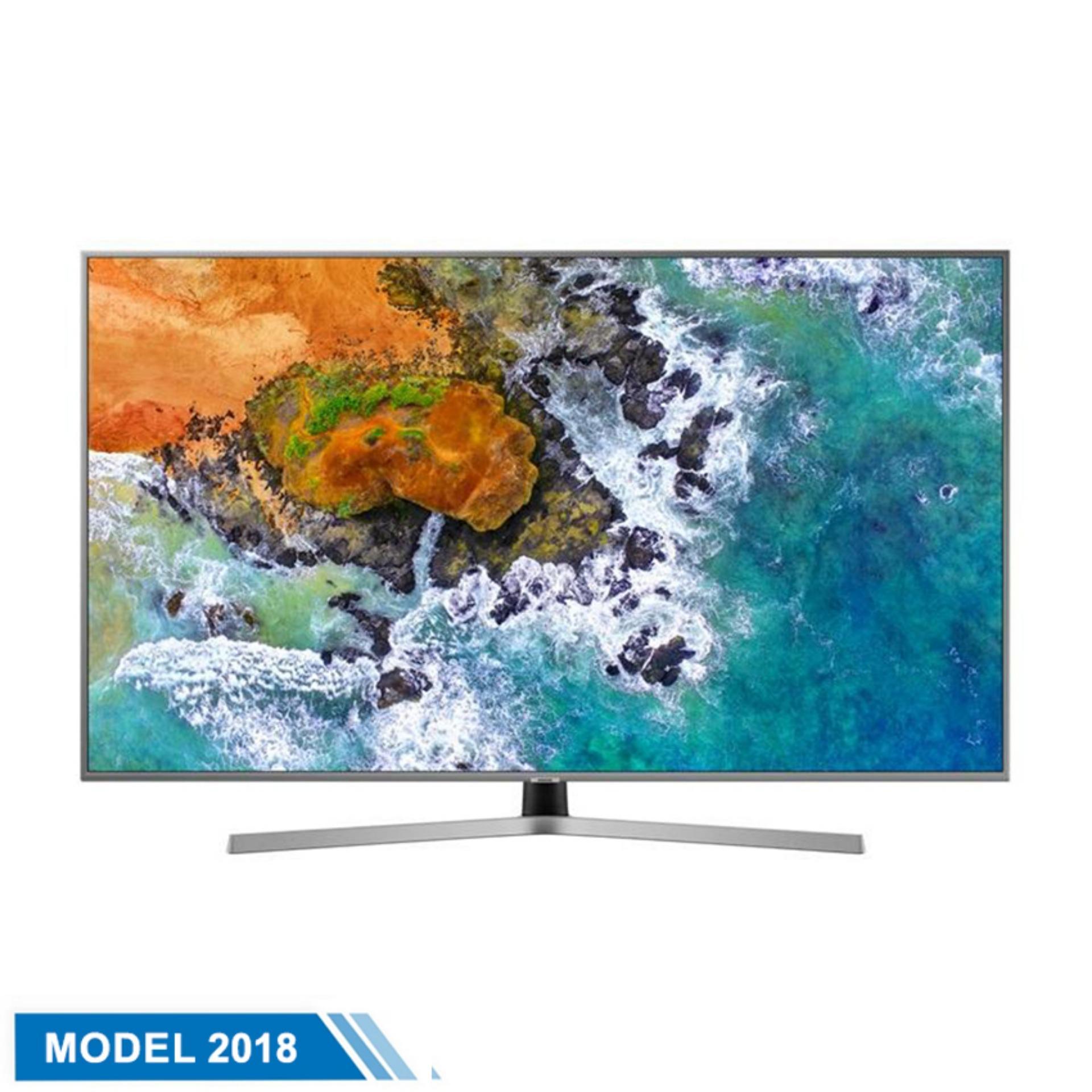 Hình ảnh Smart TV Samsung 50inch 4K Ultra HD - Model UA50NU7400KXXV (Đen) - Hãng phân phối chính thức