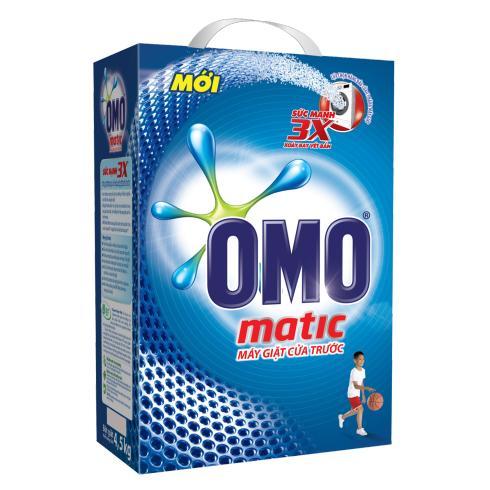 Bột Giặt OMO MATIC 6kg Cho Máy Giặt Cửa Trước Giảm Giá Khủng