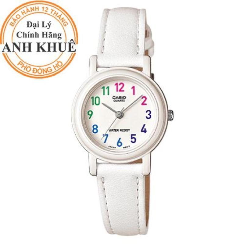 Đồng hồ nữ dây da Casio Anh Khuê LQ-139L-7BDF