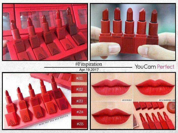 Set 3ce Red mini
