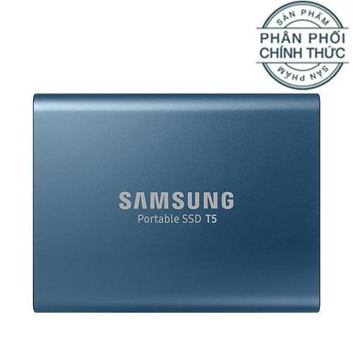 Hình ảnh Ổ cứng di động 500GB External SSD Samsung T5 USB 3.1 Gen 2 - Hãng Phân Phối Chính Thức