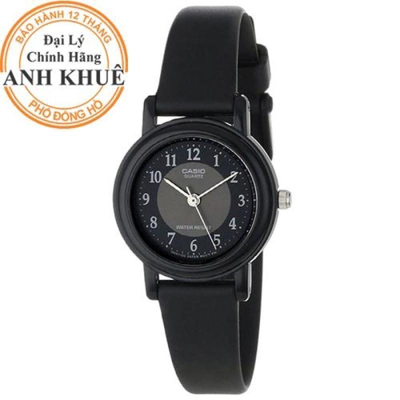 Đồng hồ nữ dây nhựa Casio Anh Khuê LQ-139AMV-1B3LDF