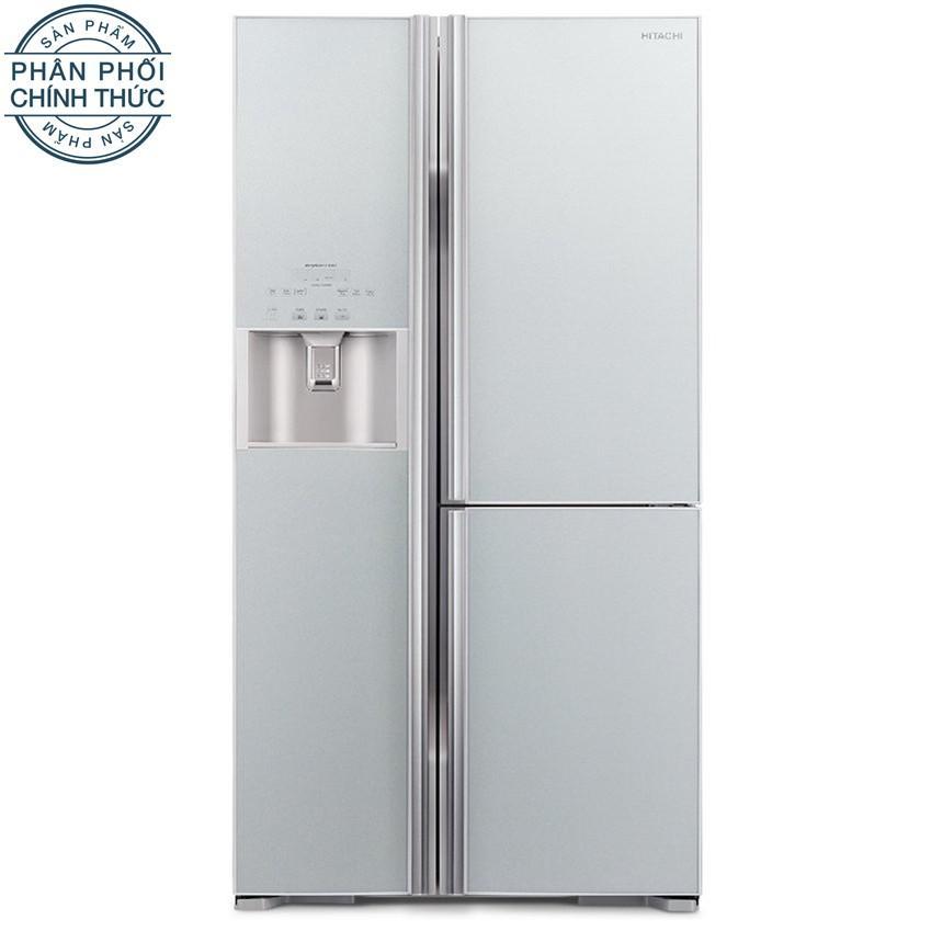 Tủ Lạnh Hitachi R M700Gpgv2 Gs 584L 3 Cửa Bạc Việt Nam
