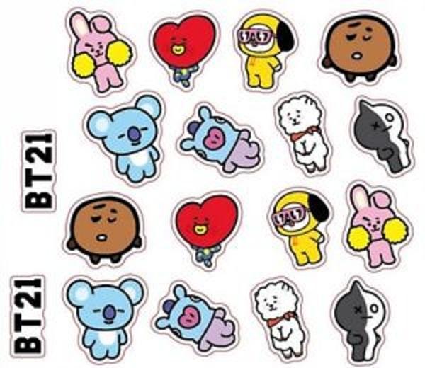 Mua Bộ Sticker BT21 BTS