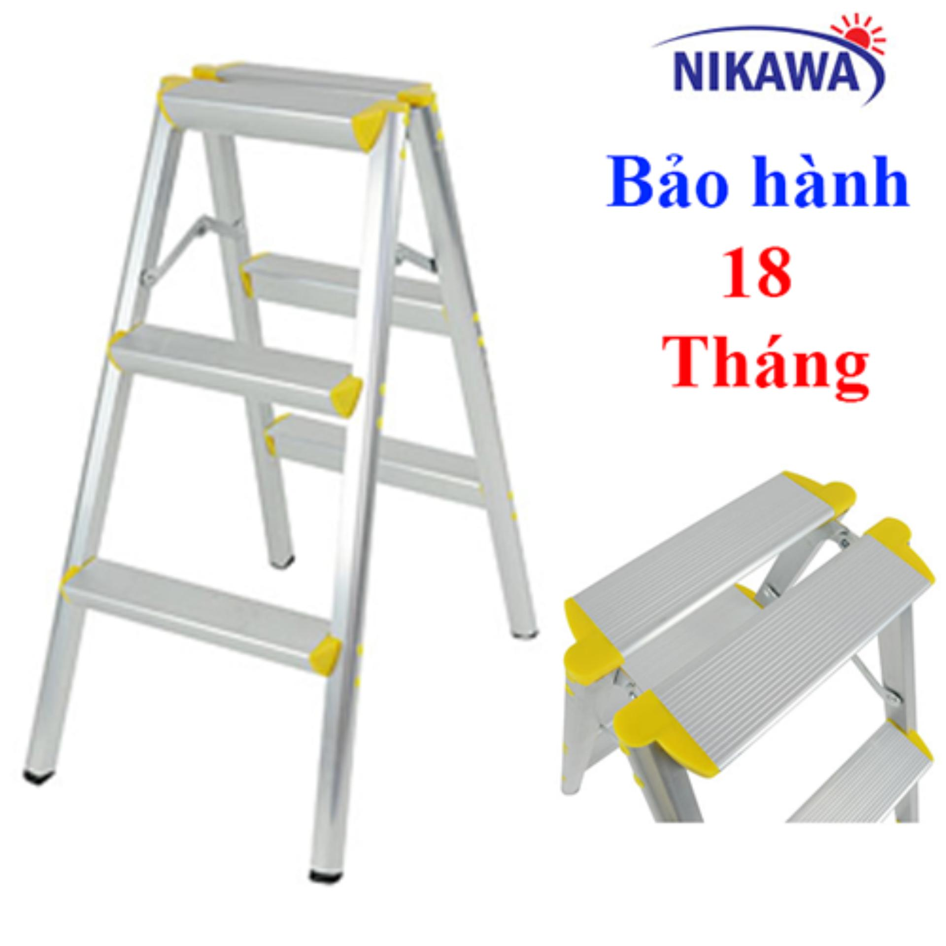 Thang nhôm chữ A NIKAWA NHẬT BẢN NKD03 - Cao 75cm