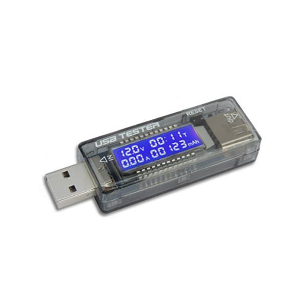 Hình ảnh Test Điện Thoại, Sạc Dự Phòng Bằng USB Đo Dòng - Đo Áp V3 4V-20V 3A