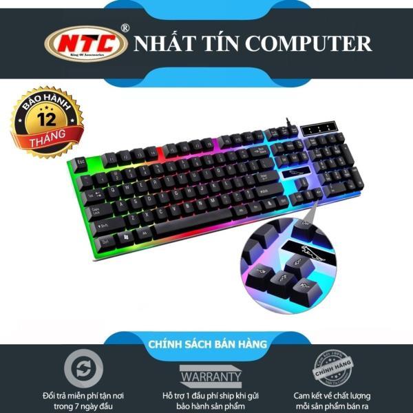 Bảng giá Bàn phím giả cơ dành cho game thủ NTC G21 led đa màu (Đen) - Nhất Tín Computer Phong Vũ