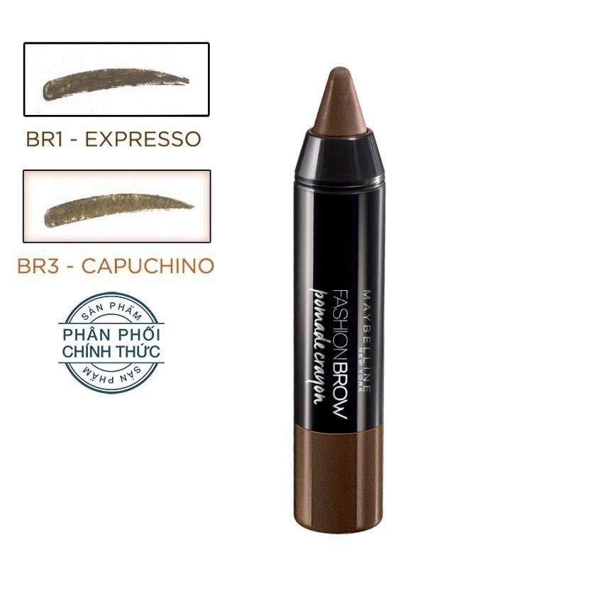 Bán But Kẻ May Sap Maybelline New York Pomade Crayon Br1 Nau Đậm Maybelline Rẻ
