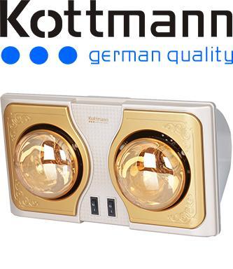 Đèn sưởi Kottmann 2 bóng
