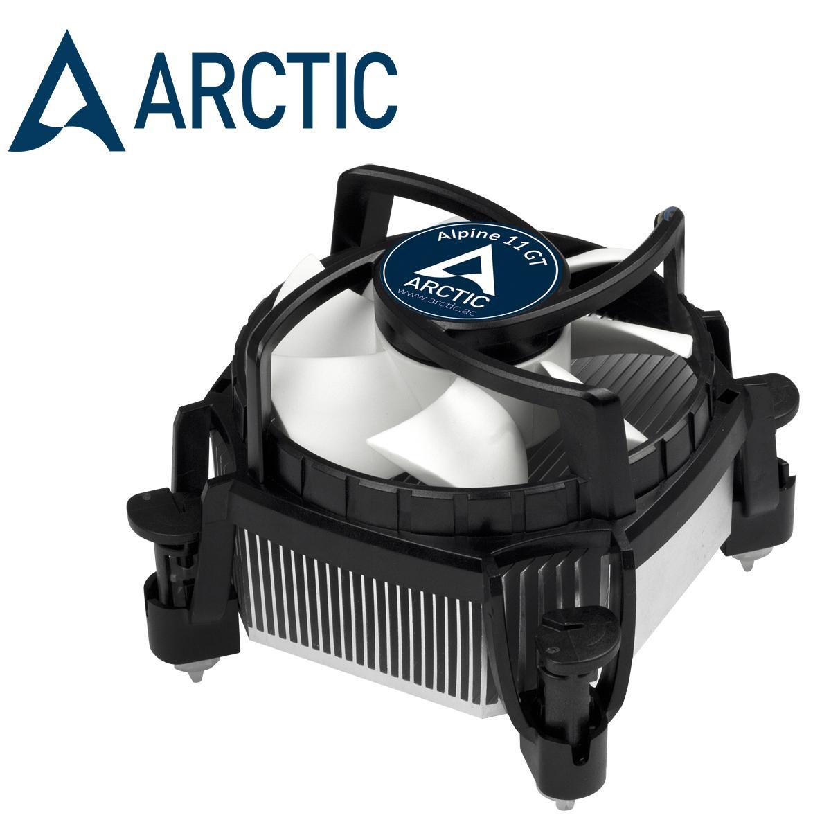 Quạt tản nhiệt cpu Arctic Alpine 11 GT - Thay thế fan stock, giảm nhiệt tốt