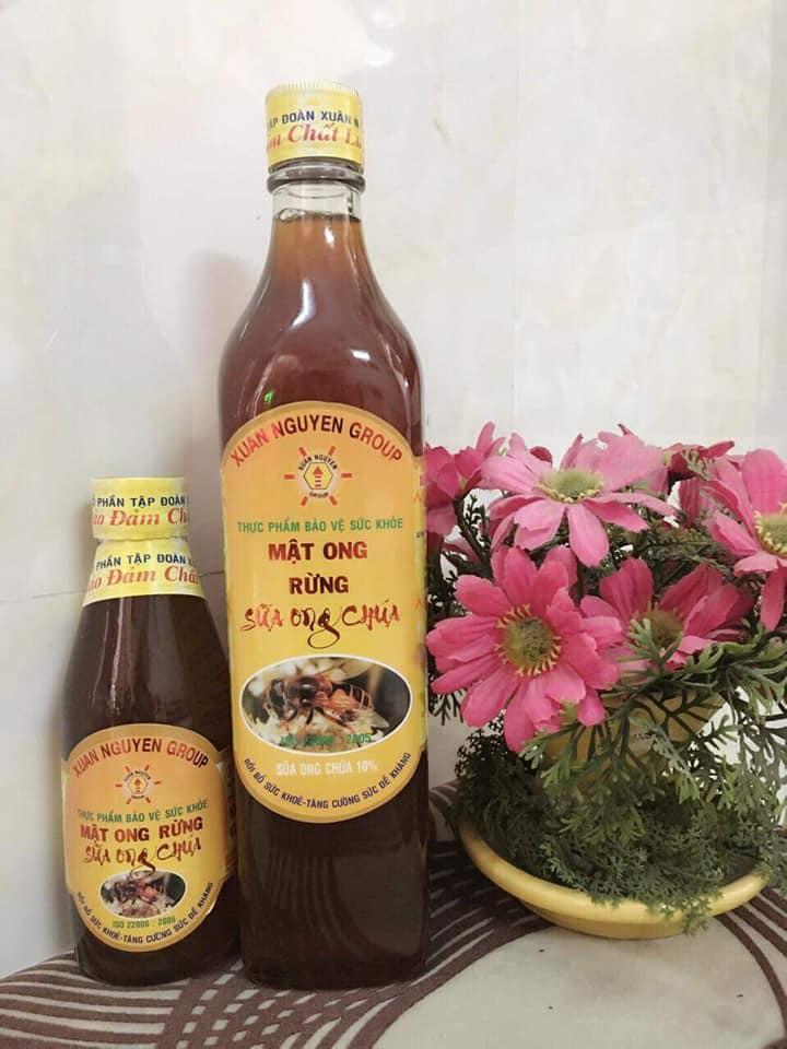 ComBo 2 chai Mật Ong Rừng Sữa Ong Chúa Xuân Nguyên