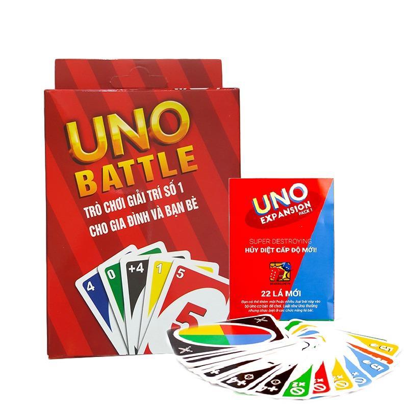 Hình ảnh Combo Bài Uno đại chiến và uno mở rộng