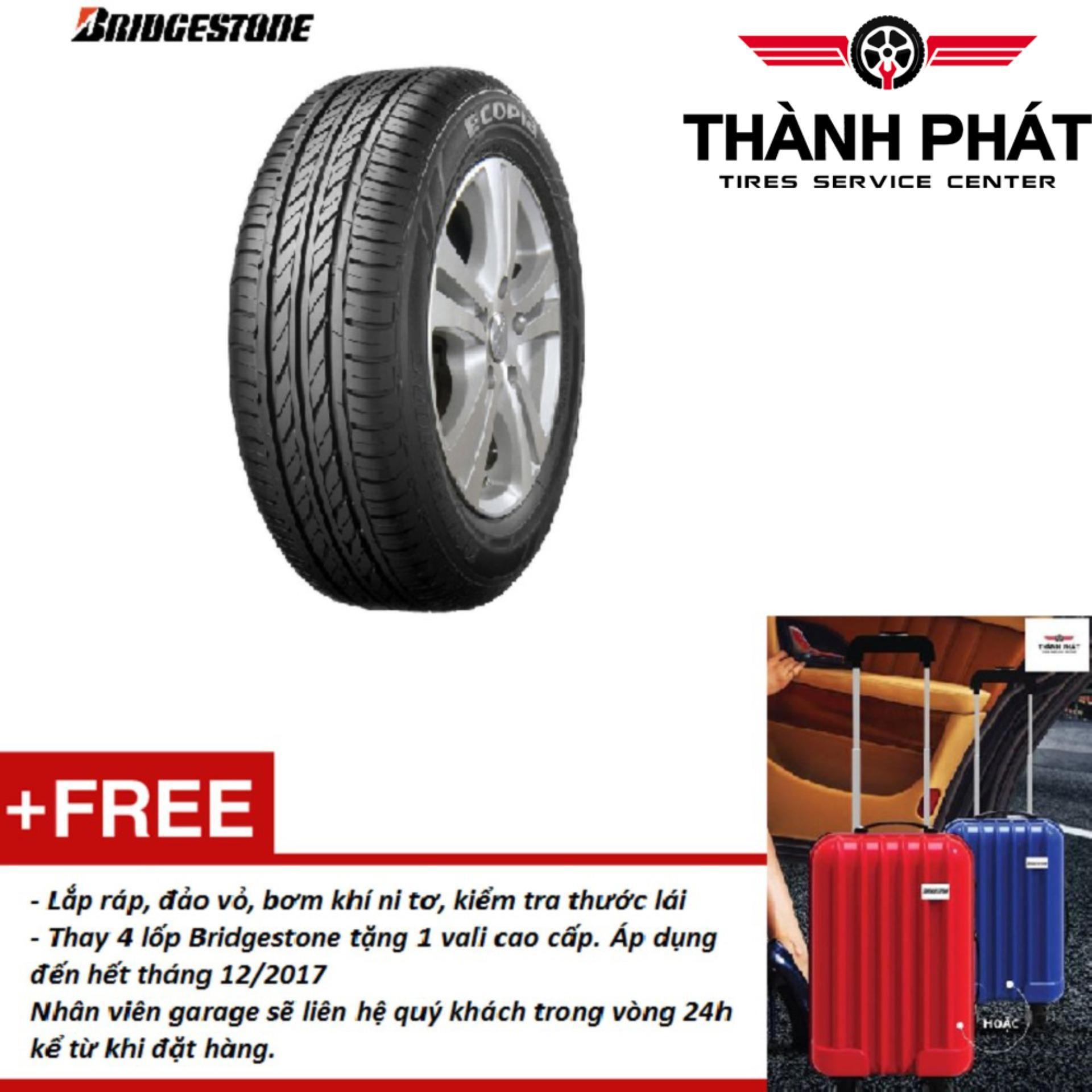 Lốp xe ô tô Bridgestone Ecopia 195/65R14 Miễn phí lắp đặt