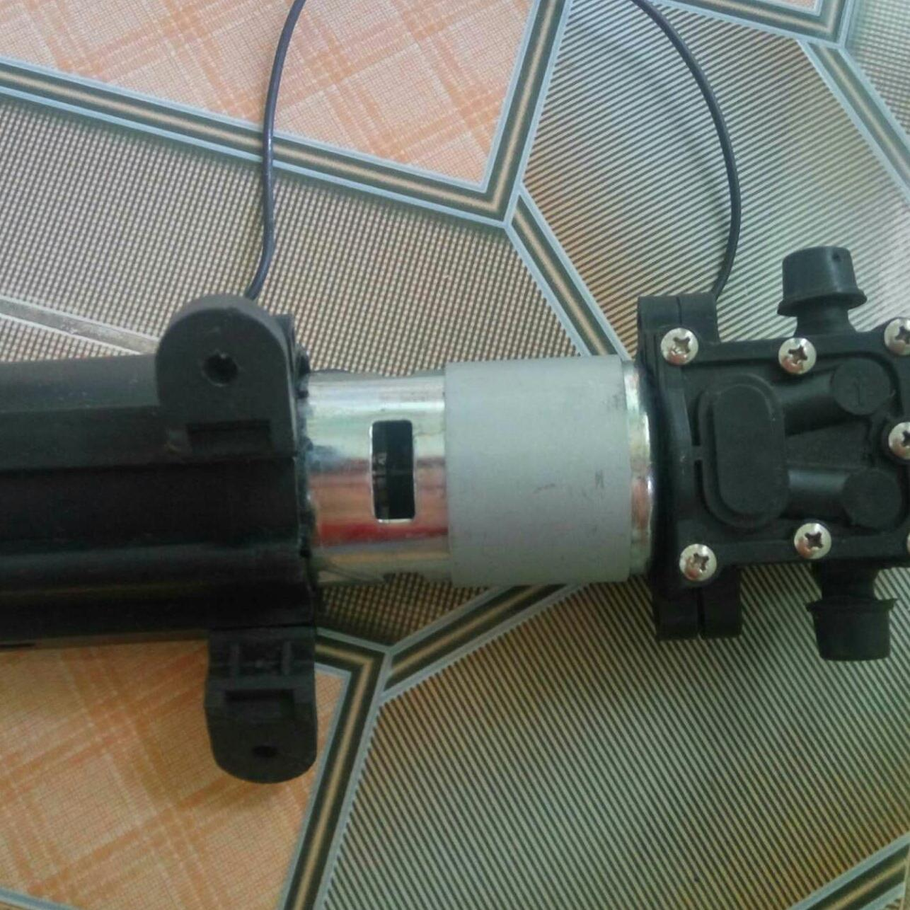 Hình ảnh Mô tơ 775 tháo máy bơm mini 12v bán cắt lỗ (ko vỏ)
